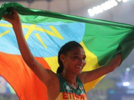 Ethiopia's Letesenbet Breaks 5,000m World Record