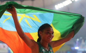 Ethiopia's Letesenbet Breaks 5,000m World Record