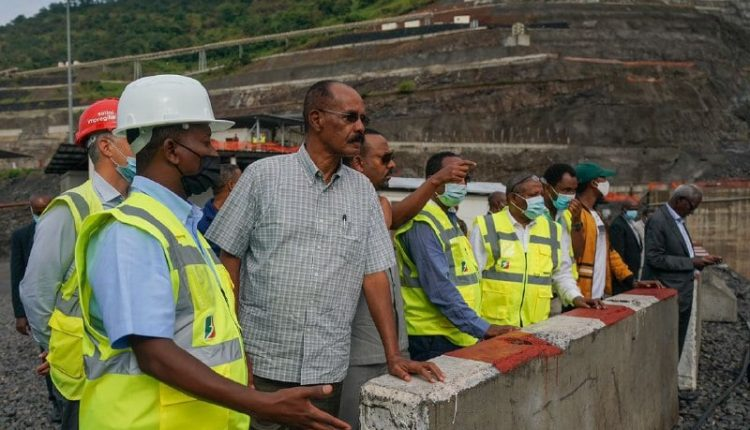 President Isaias Pay A Visit To Koysha Hydroelectric Dam