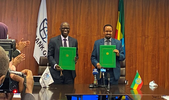 Ethiopia, World Bank Sign $400m