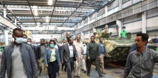 Eritrea: President Isaias Tours Ethiopian Military Installations