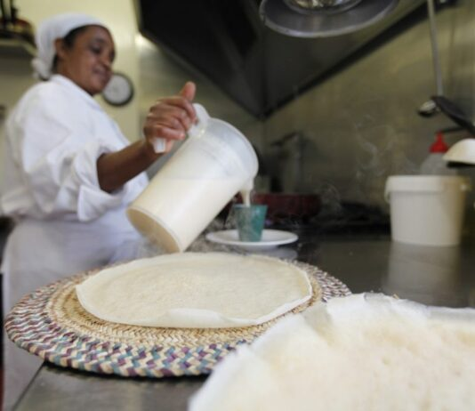 Saba Abraham's Eritrean restaurant