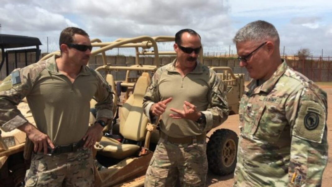 Somalia Troops USA