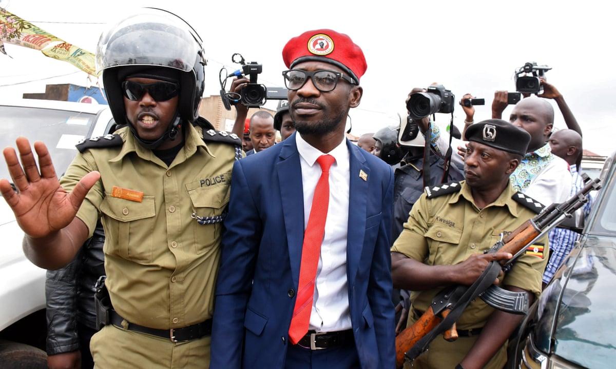 3 dead in protests in Uganda's capital as Bobi Wine arrested