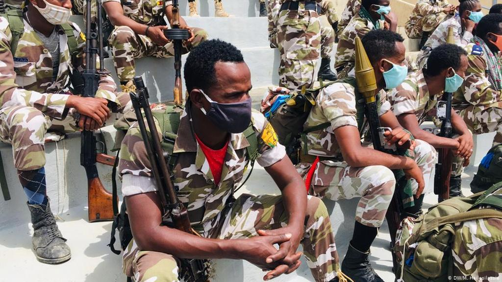Tigray forces