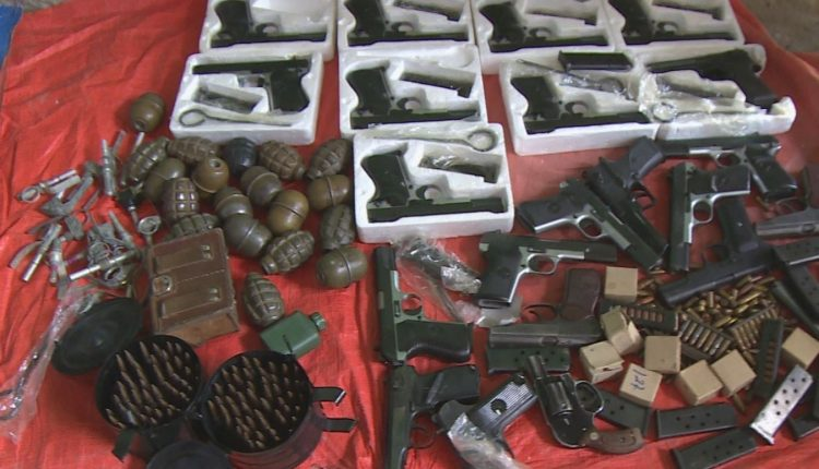 Addis Ababa Police Seize Weapons, Including 19 Hand Grenades