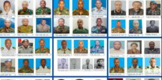 Ethiopia 76 Generals,