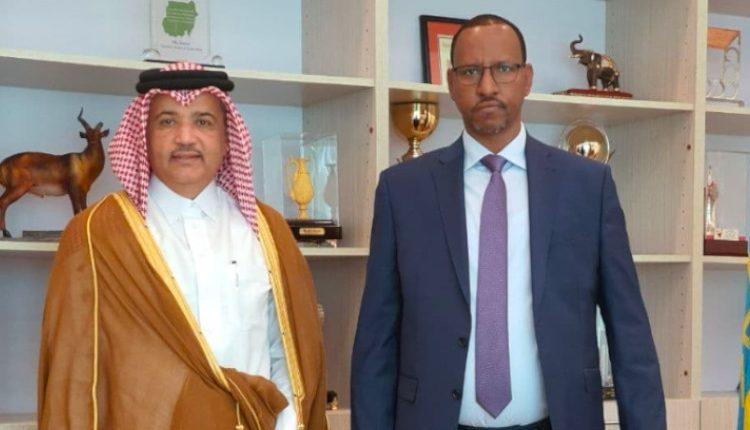 Ethiopia Upper House Speaker Qatari Ambassador