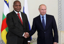 Russia Is Reportedly Preparing To Defend The Central African Republic From A Coup