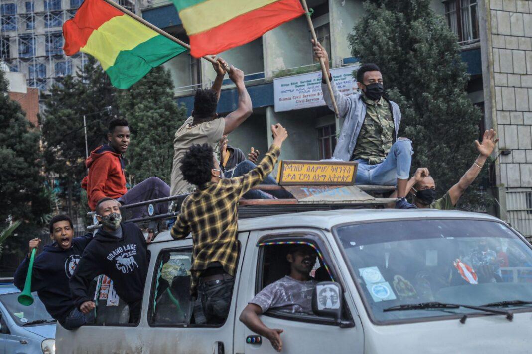 ethiopia celebrating
