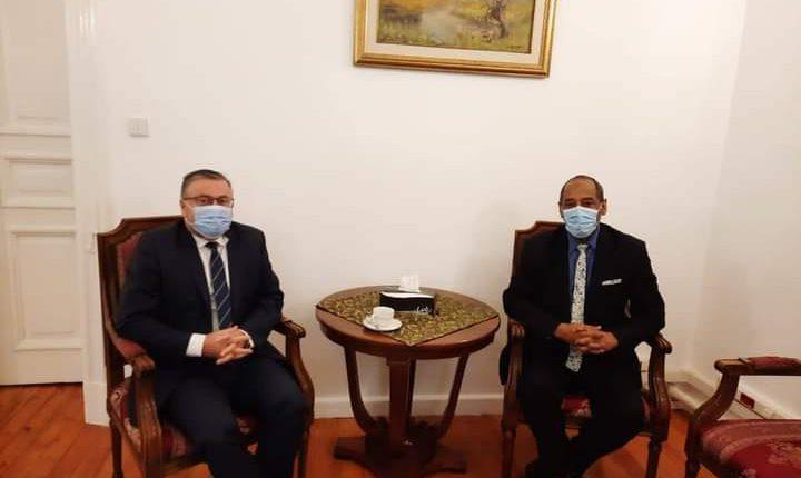 Amb Merwan Meets Sudanese, Polish Counterparts