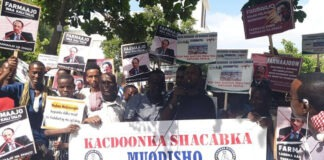 Mogadishu-protests