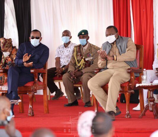PM Abiy, President Uhuru