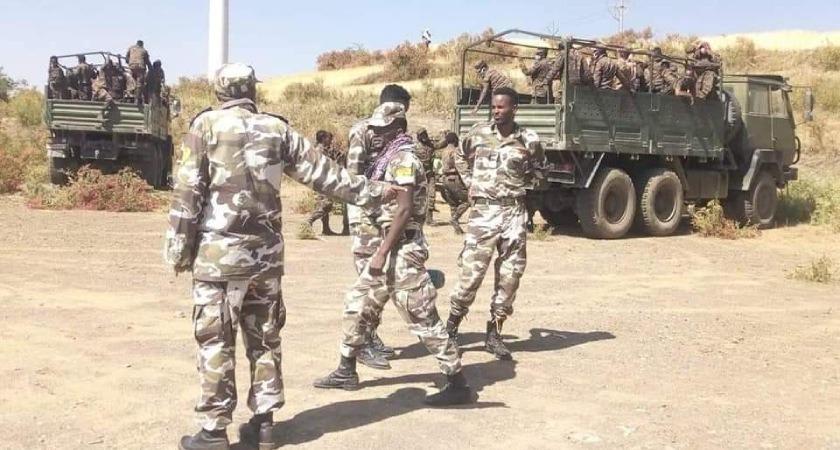 Ethiopian forces