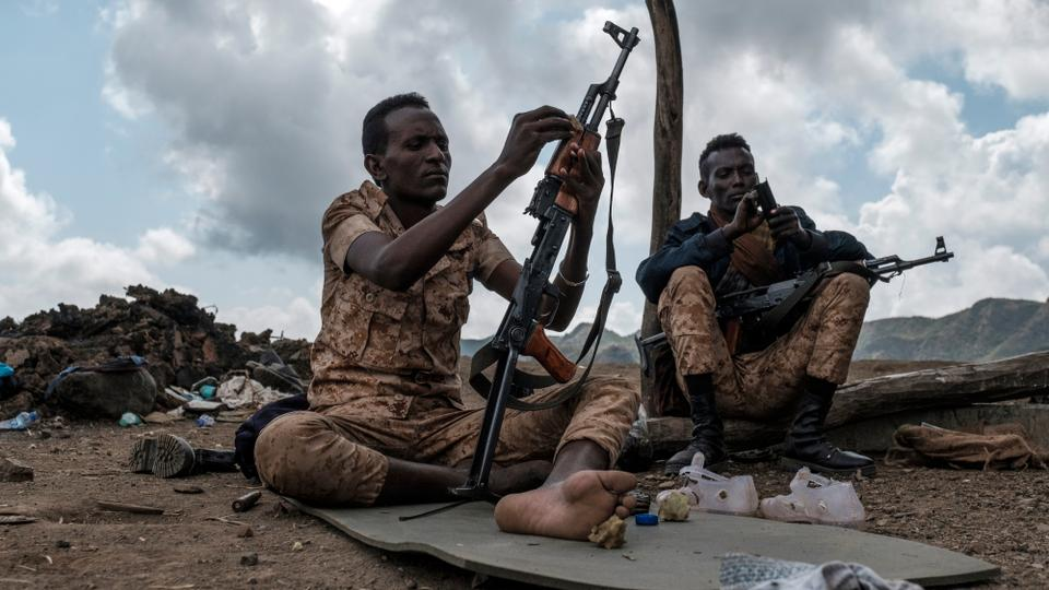 Afar Special Forces. Eritrea