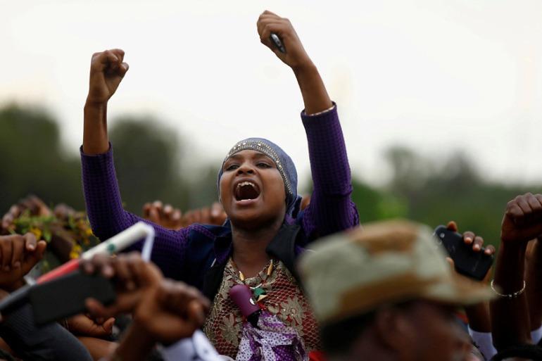 the Oromo protest