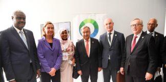 African Union, UN, EU, US