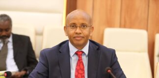 Minister of Information Osman Abukar Dubbe