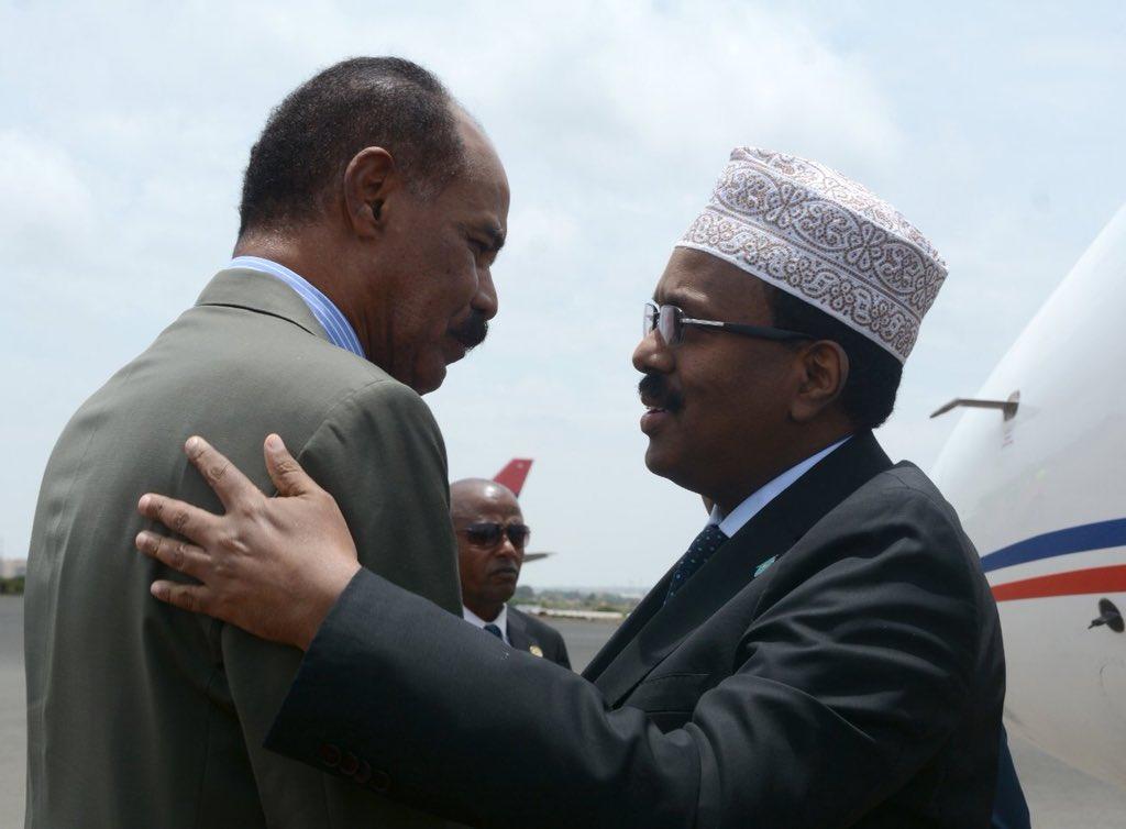 Eritrean president's praise of Farmajo
