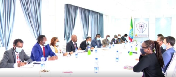 Dr Seleshi Holds Talks With US Special Envoy