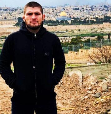 UFC legend Khabib Nurmagomedov