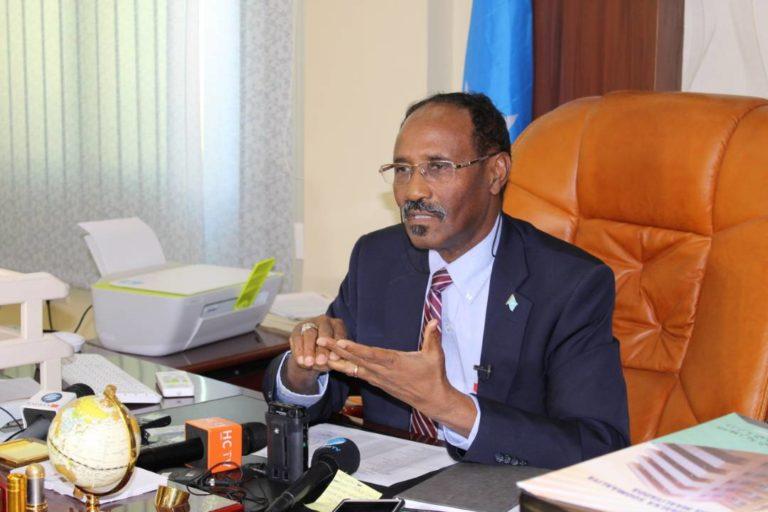 Finance Minister Abdirahman Beileh