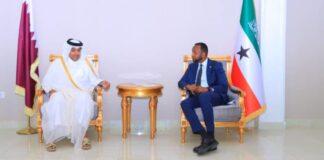 Qatari envoy lands in Somaliland,