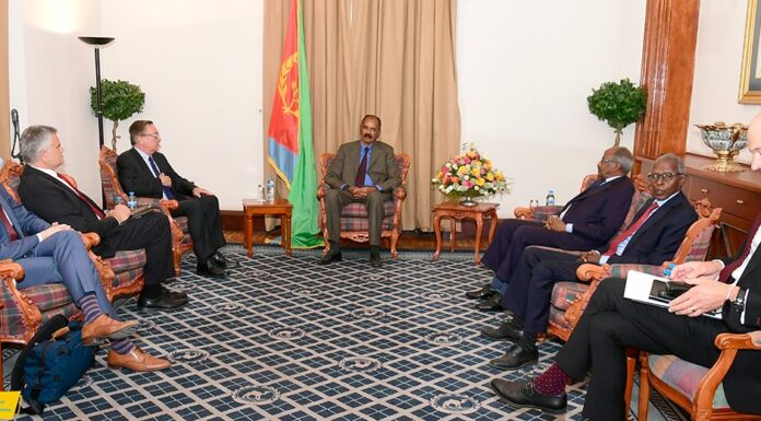 President Isaias Afwerki receives American delegation