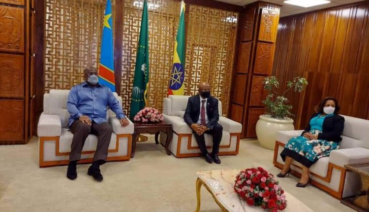 DRC President Arrives In Addis Ababa